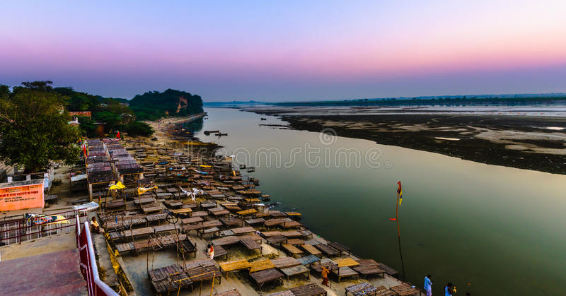Shringverpur at Allahabad stock photography