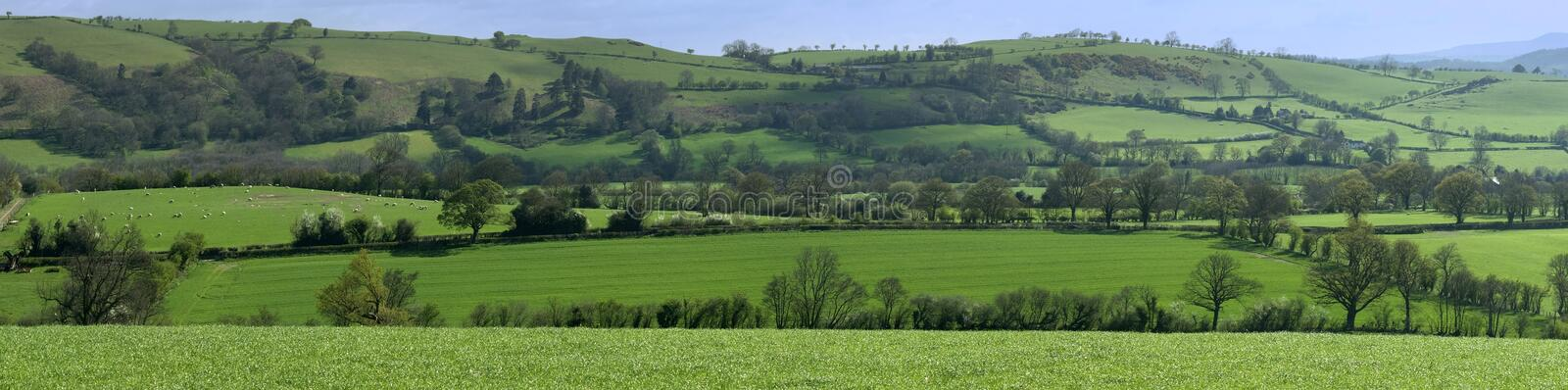 Download Shropshire stock image. Image of rolling, undulating, panorama - 3398915