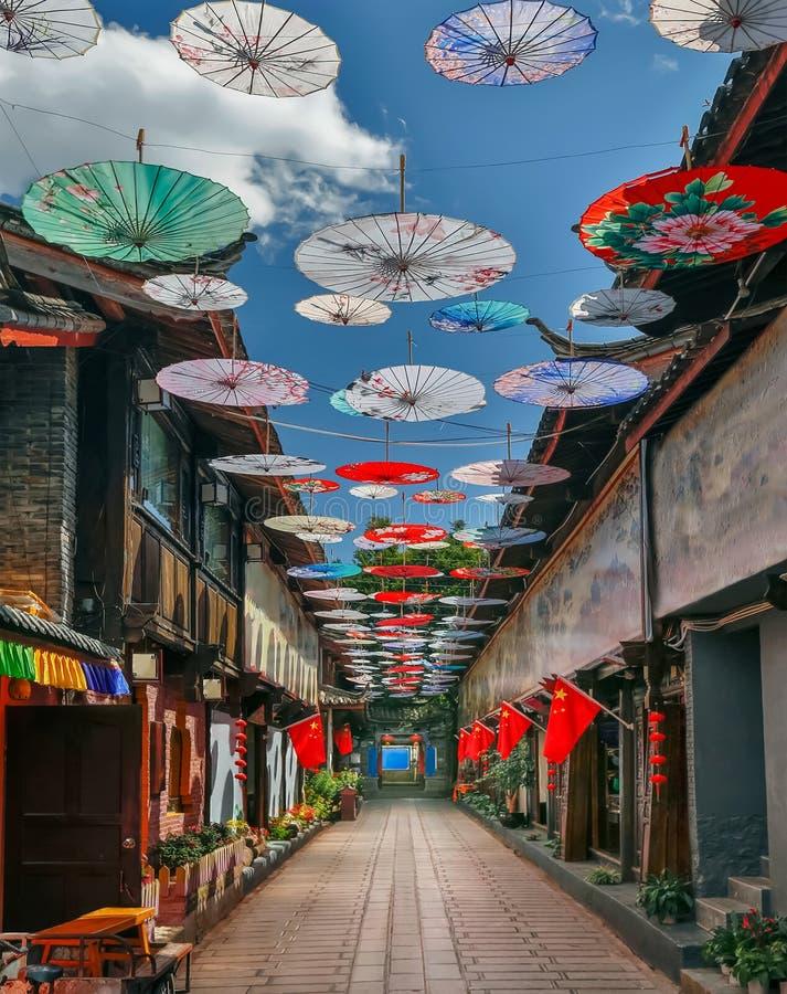 Shuhe stary miasteczko, Lijiang, Yunnan, Chiny fotografia royalty free