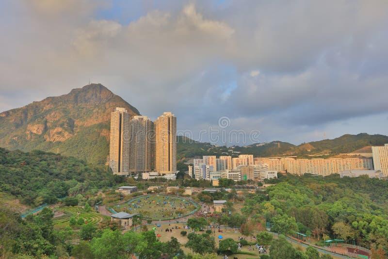 Shun Lee-Bezirk, kwun Zange stockfoto