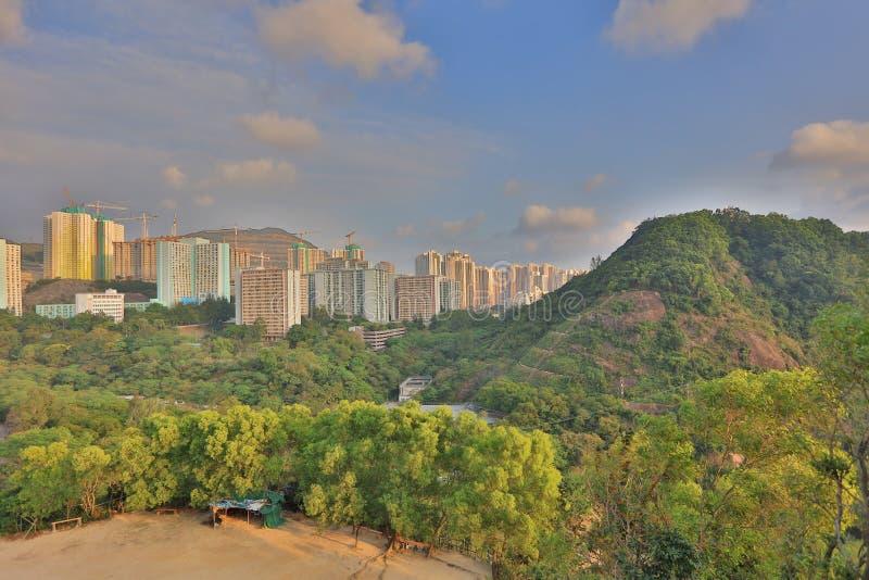 Shun Lee-Bezirk, kwun Zange stockbild