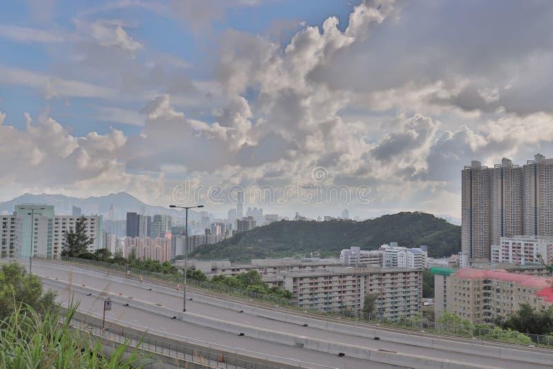 A Shun Lee district kwun tong at hong kong. The Shun Lee district kwun tong at hong kong royalty free stock image