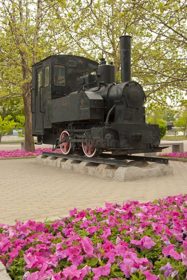 Shunter idoso, museu Railway de China imagens de stock royalty free