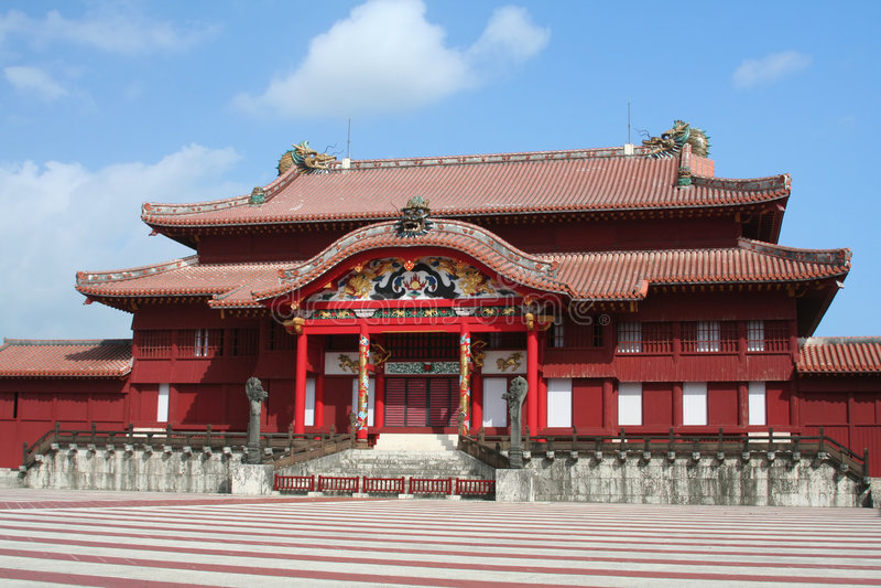 Shuri Castle stock photography