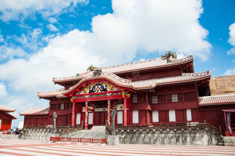 Shuri-Schloss, Okinawa, Japan stockfotografie