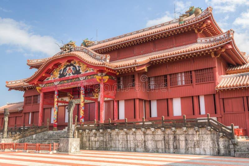 Shurijokasteel in Okinawa royalty-vrije stock foto's