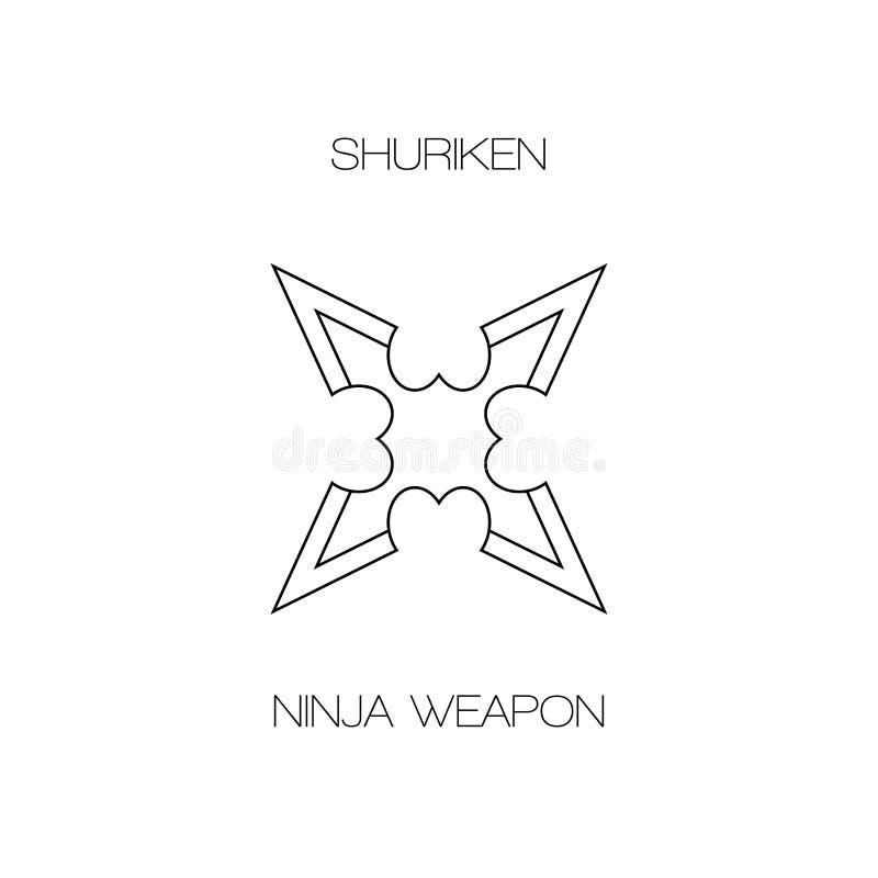 Shuriken ninja japanese weapon5 stock photography