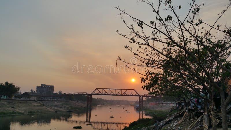 Shurma взгляда ночи стоковая фотография rf