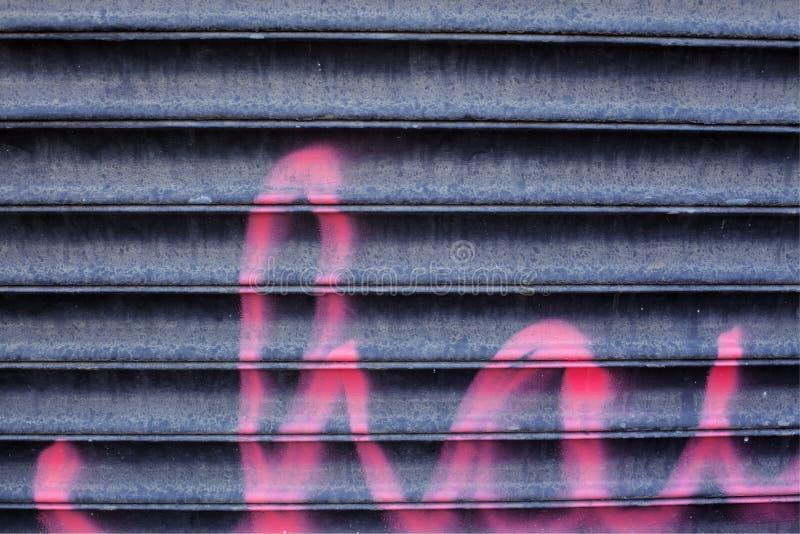 Shuterr del metallo fotografie stock libere da diritti