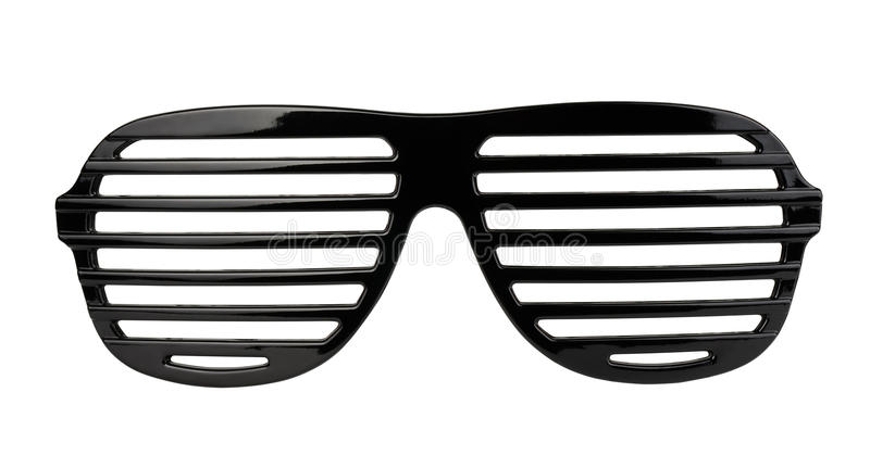 Shutter shades royalty free stock photography