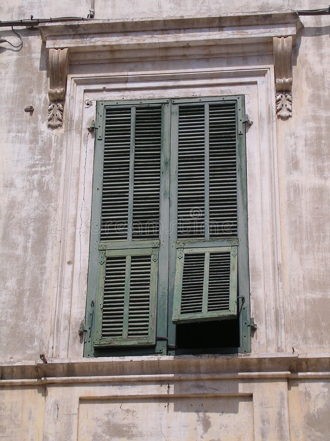 Download Shutters. stock image. Image of shade, open, window, louvre - 199343