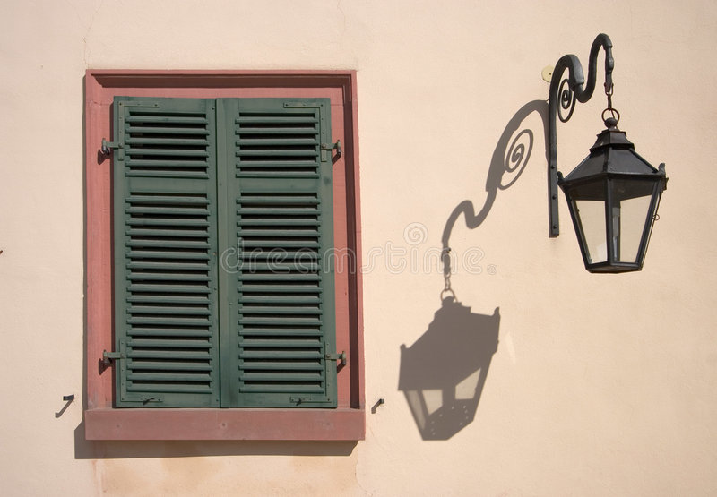 Shutters stock image
