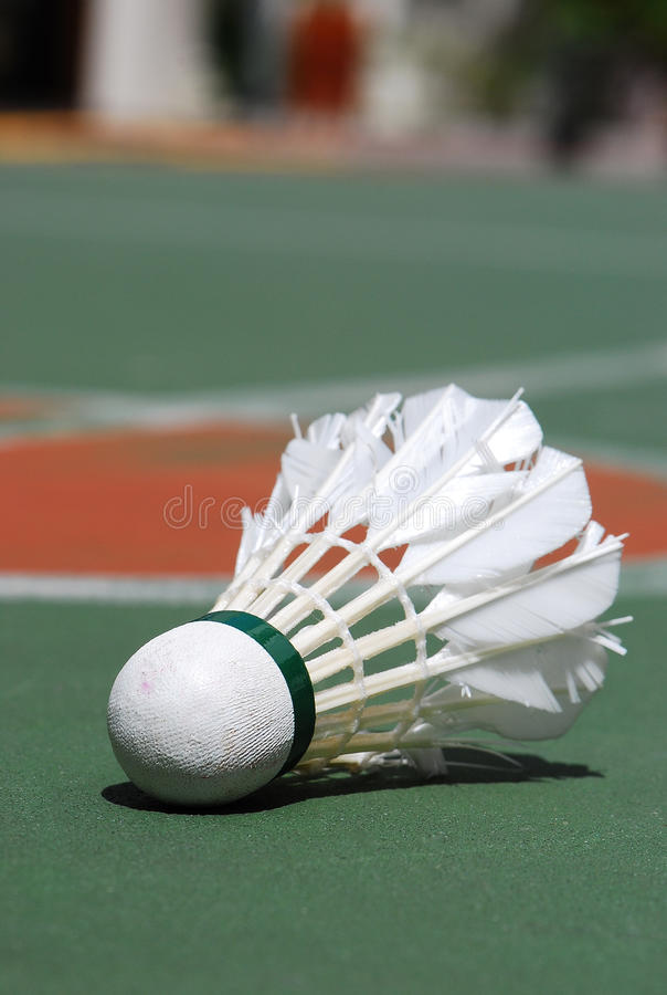 Shuttlecock royalty free stock images