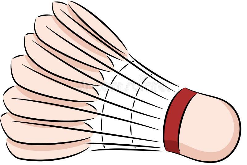 shuttlecock illustrazione vettoriale