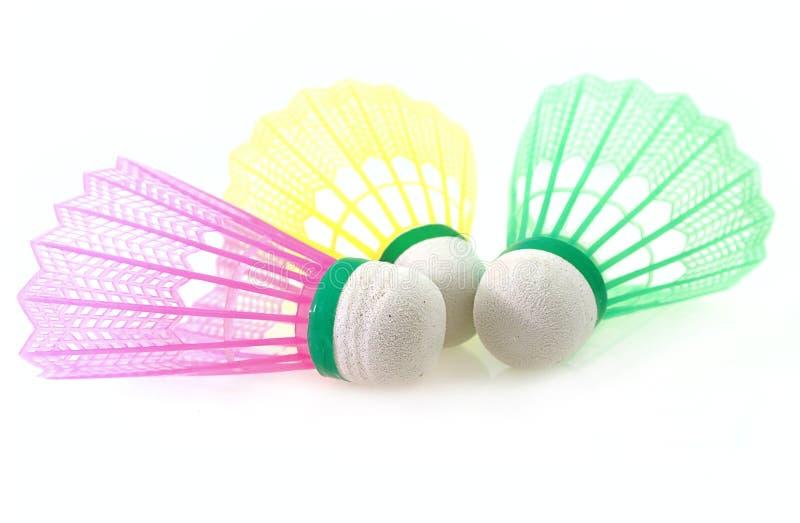 shuttlecock badminton стоковые фото