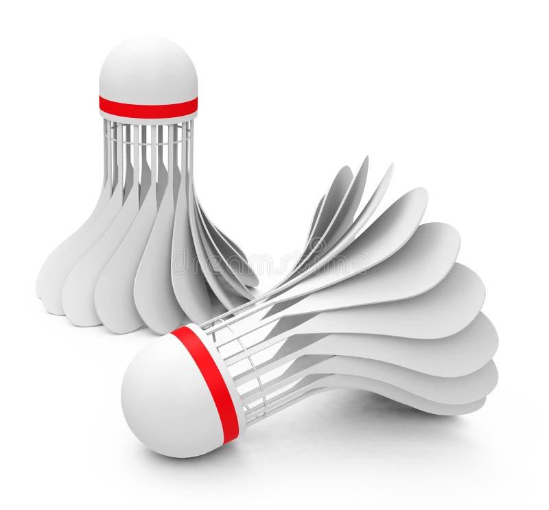 Download Shuttlecock stock illustration. Image of play, balls - 40466023
