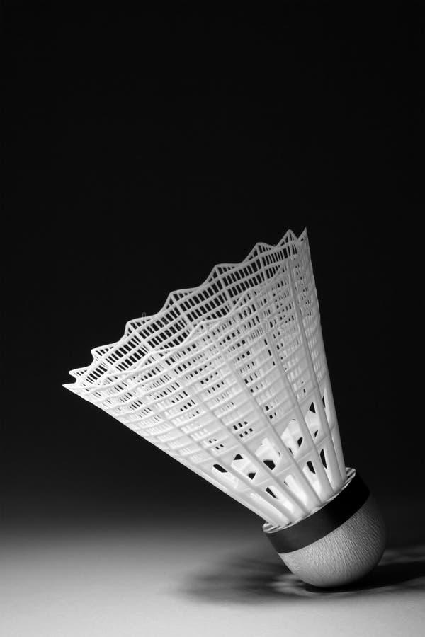 Shuttlecock do Badminton imagens de stock