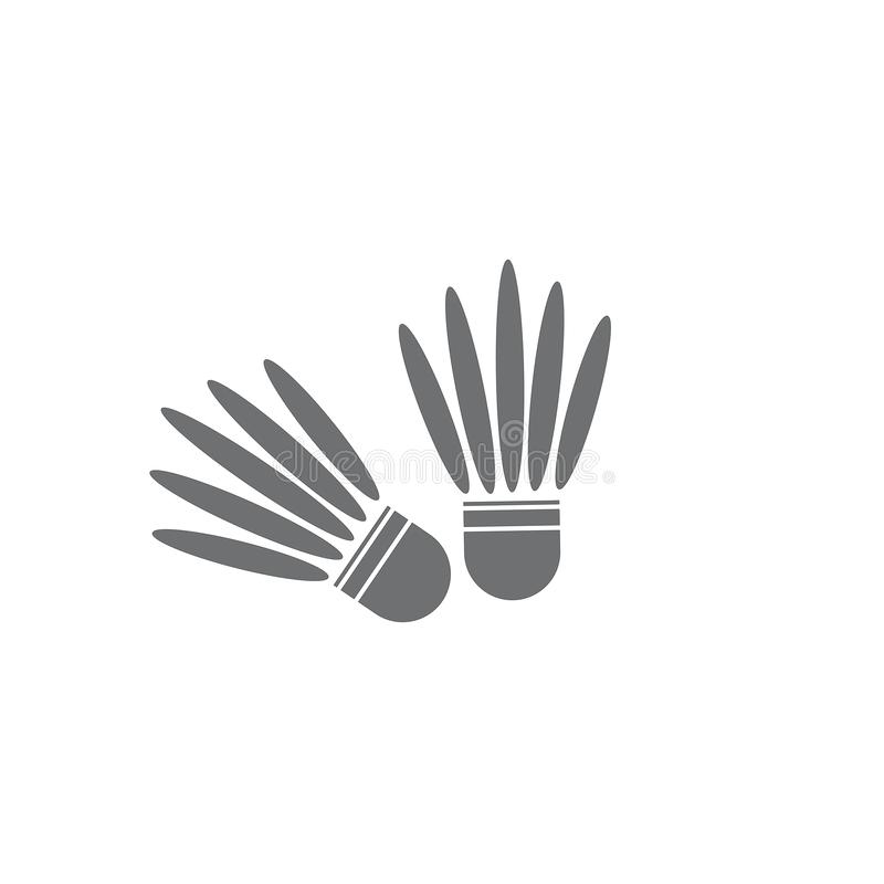 shuttlecock royaltyfri illustrationer
