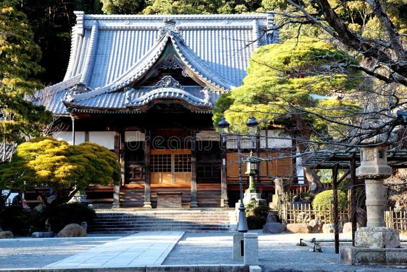 Shuzenji - temple japonais images libres de droits