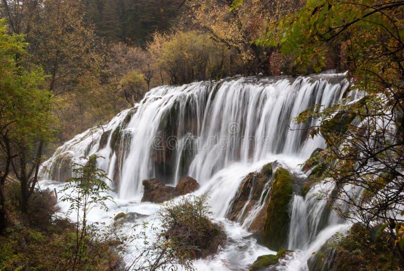 Shuzheng Waterfall royalty free stock photo