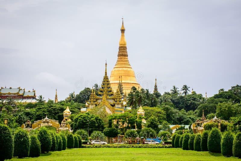 Shwe Dagon pagoda, Yangon, Myanmar zdjęcia royalty free