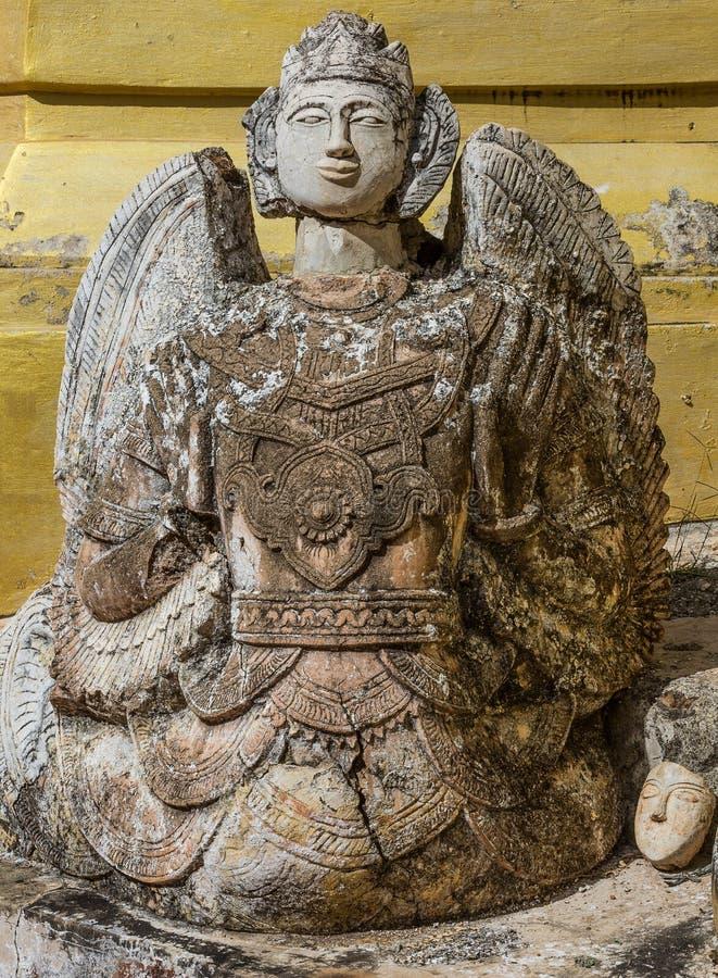Shwe-Gasthaus-Dein Pagoda Inle Lake Shan-Zustand Myanmar stockbilder