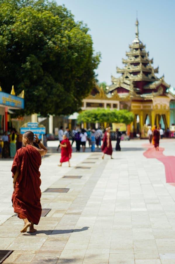 Shwe Maw Daw Pagoda Myanmar or Burma. Shwe Maw Daw Pagoda (Shwemawdaw Pagoda), Myanmar or Burma stock photo