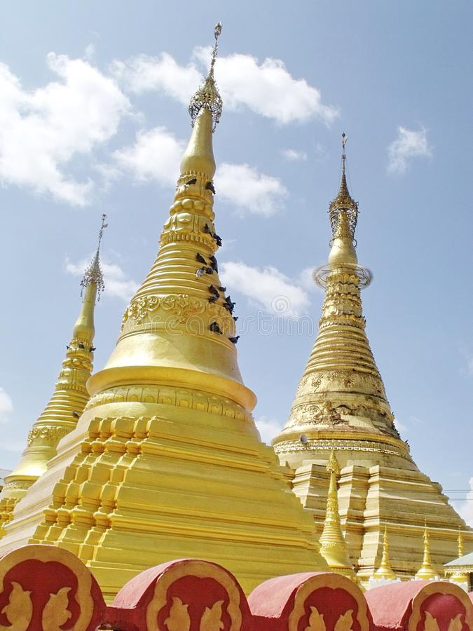 Shwe Muay Wan Temple photo libre de droits