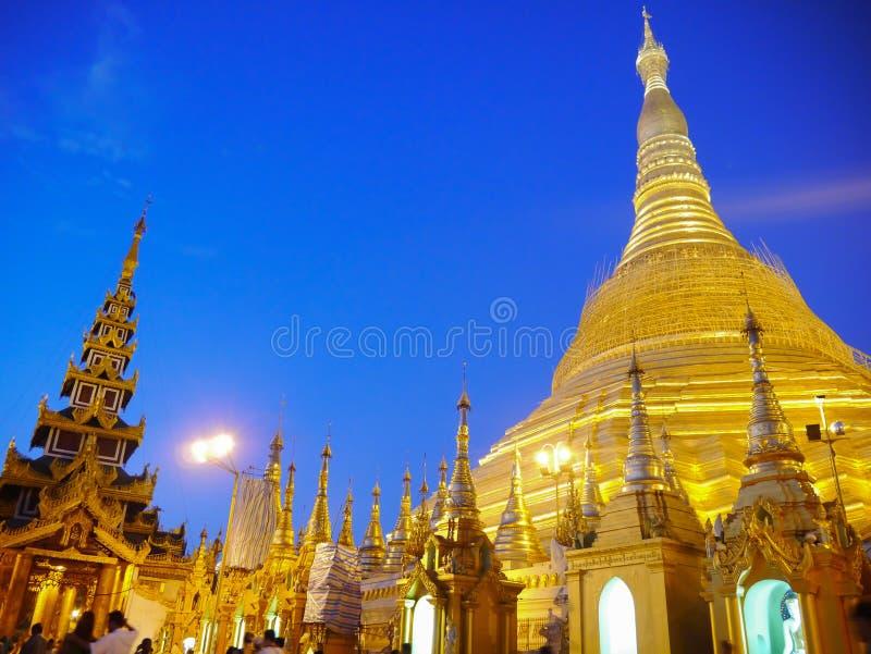 Shwedadon pagoda obraz royalty free