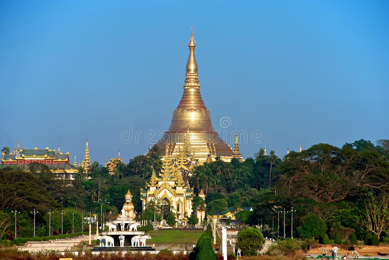 Download Shwedagon stock photo. Image of entrance, gate, stupa - 24624082