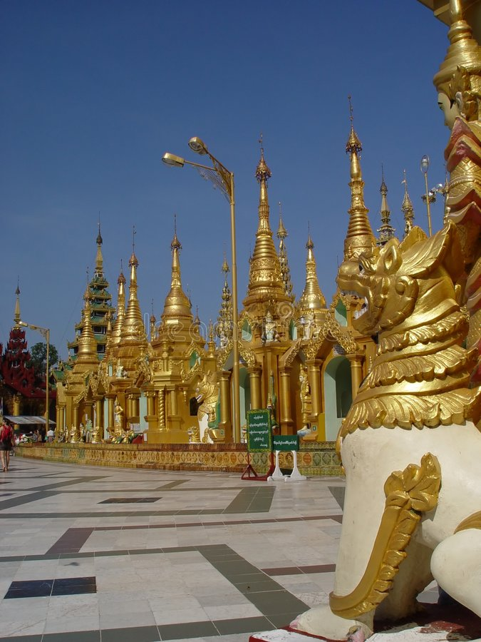 Shwedagon royalty free stock image