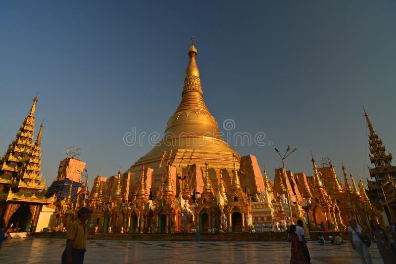 Shwedagon Pagoda,Yangon.Myanmar. royalty free stock photo