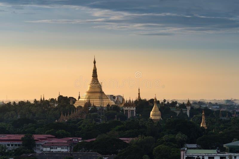 Shwedagon Pagoda, Myanmar. stock images