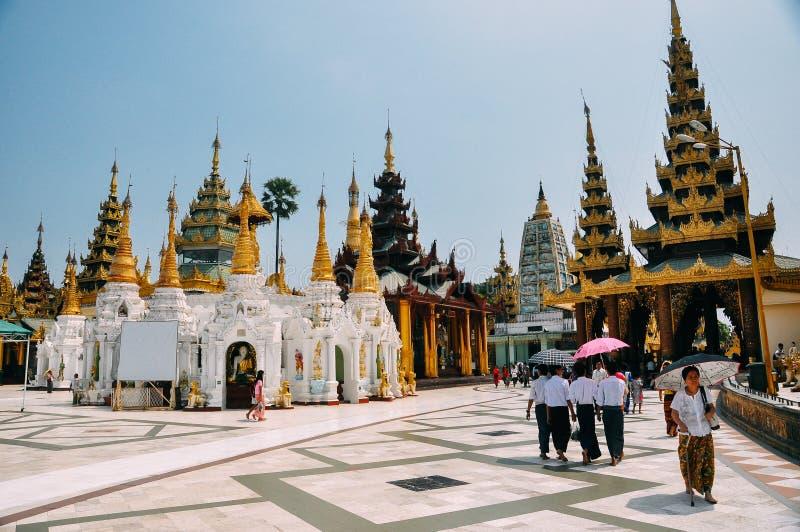 Shwedagon Pagoda. stock photography