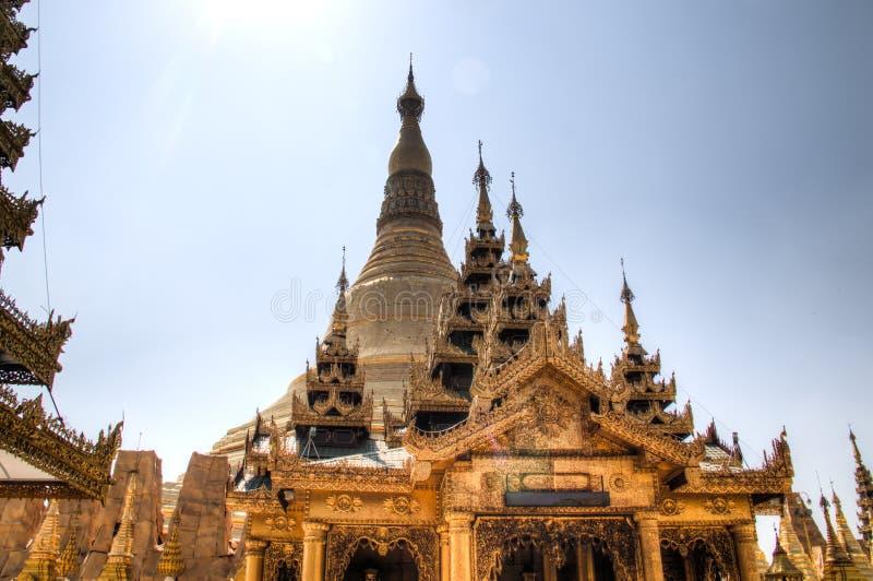 Shwedagon pagoda w Yangon, Myanmar zdjęcia stock