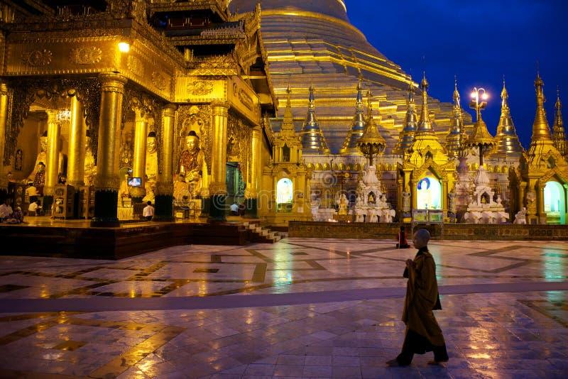 Shwedagon pagoda stock photography
