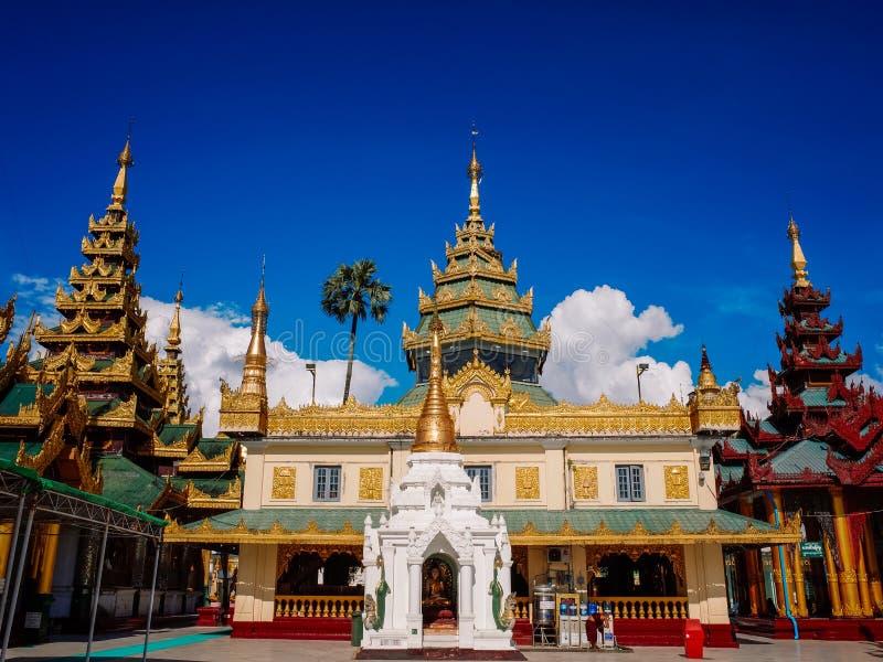 Shwedagon Pagoda-Yangon-Myanmar image stock