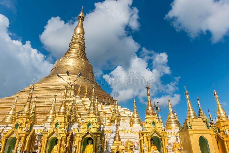 Shwedagon Pagoda in Yangon. Myanmar stock photo