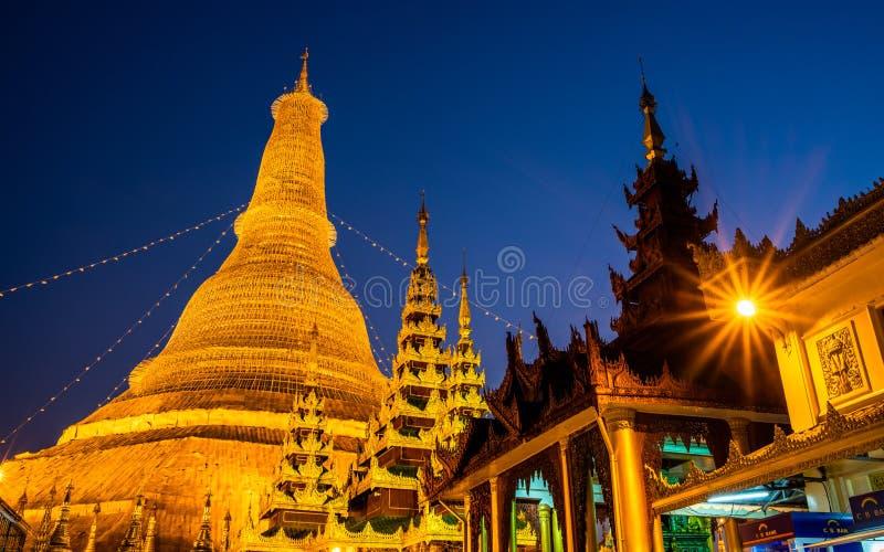 Shwedagon Pagoda, Yangon, Myanmar. Burma Asia. Buddha pagoda stock photos