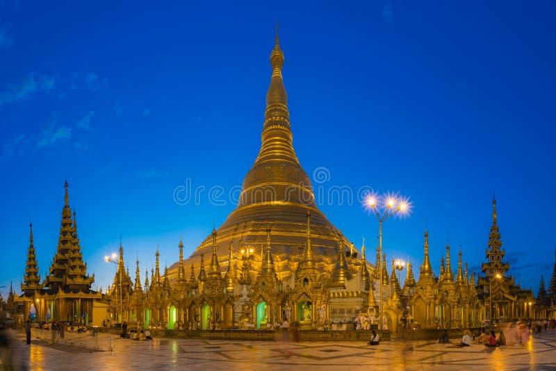 Shwedagon Pagoda, Yangon stock photos