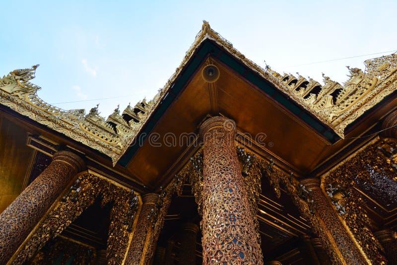 Shwedagon Pagode stockbild