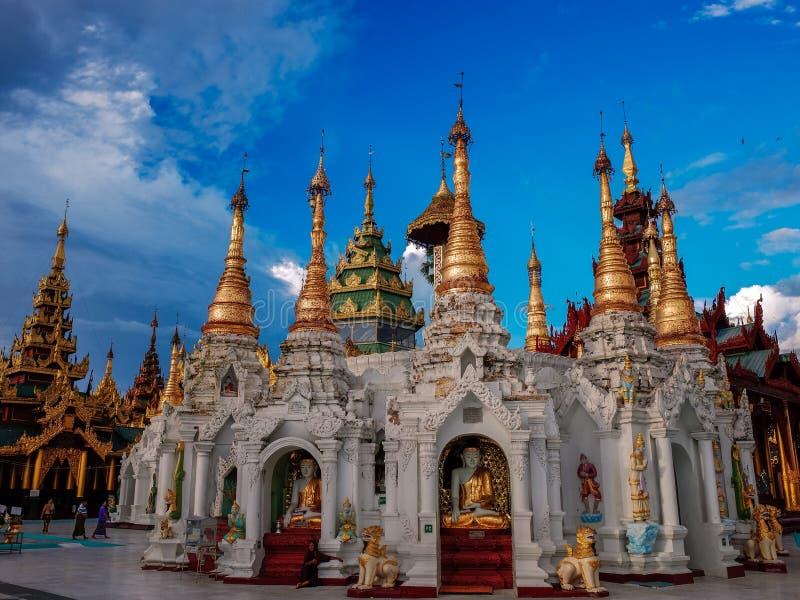 Shwedagon Pagode-Yangon-Myanmar foto de stock