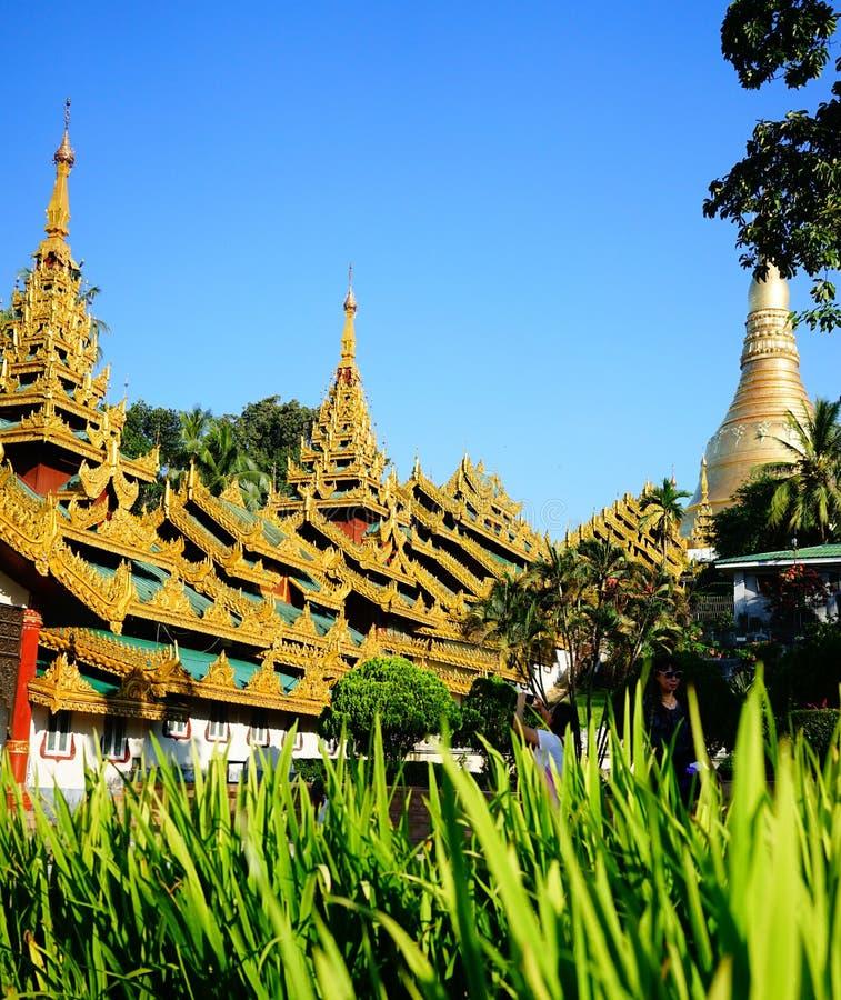 shwedagon paya在仰光,缅甸. 宗教, 缅甸.