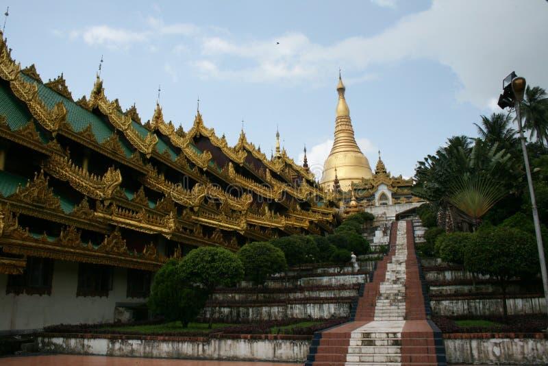 Shwedagon paya lizenzfreie stockfotografie