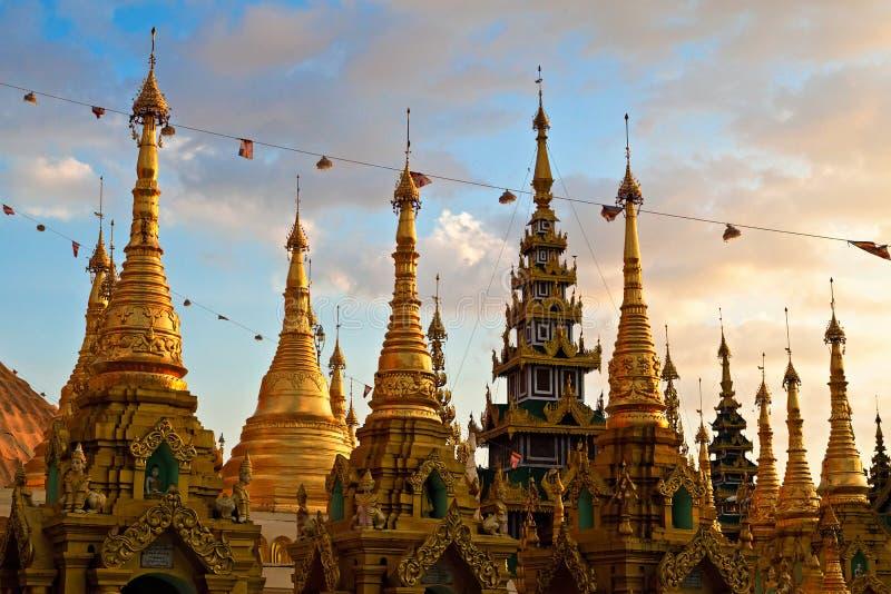 Shwedagon Paya imagens de stock royalty free