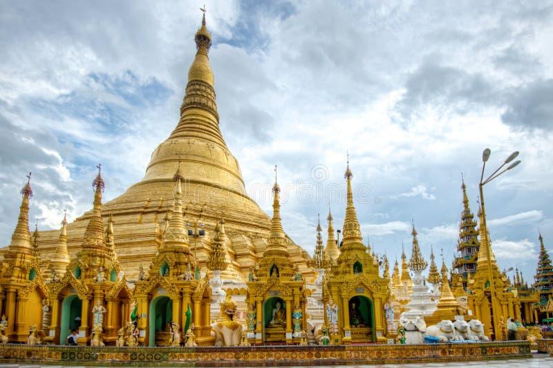 Shwedagon Paya стоковые изображения
