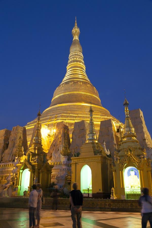Download Shwedagon Paya By Night Editorial Stock Photo - Image: 29592738