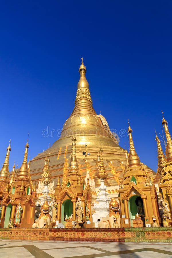 Shwedagon Paya Myanmar Royalty Free Stock Photo