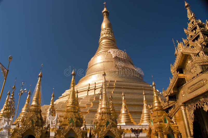 Shwedagon Paya, Yangoon images stock