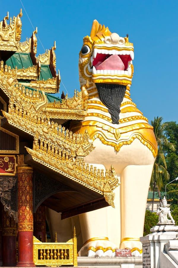 Shwedagon Paya, Yangoon, fotografie stock libere da diritti